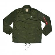 Alpha Industries Coach Jacket TT dark green
