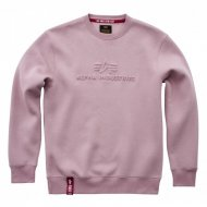Alpha Industries Crewneck Sweater 3D silver pink