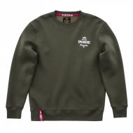 Alpha Industries Crewneck Sweater Classic dark green