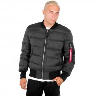 Alpha Industries Daunenjacke MA-1 Puffer black