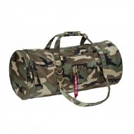 Alpha Industries - Flight Duffel Bag wdl camo 65