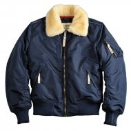 Alpha Industries - Injector III Fliegerjacke rep. blue