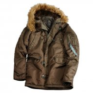 Alpha Industries Kapuzenparka N3B VF 59 Woman (Brown...