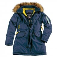 Alpha Industries Kapuzenparka PPS N3B Woman (Rep. Blue)