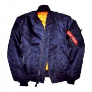 Alpha Industries - MA-1 Bomberjacke rep.blue