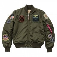 Alpha Industries MA-1 Pilot Bomberjacke dark green