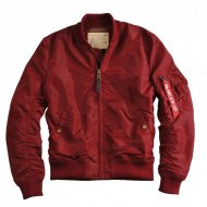 Alpha Industries - MA-1 TT Bomberjacke burgundy