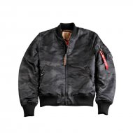 Alpha Industries - MA-1 VF 59 Bomberjacke black camo