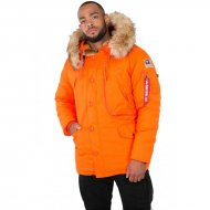 Alpha Industries - Polar Winterjacke flame orange