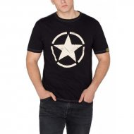 Alpha Industries T-Shirt Star black