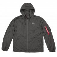 Alpha Industries Windbreaker Backprint greyblack