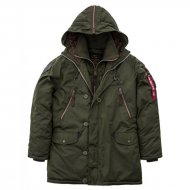 Alpha Industries Winterjacke Discoverer dark green
