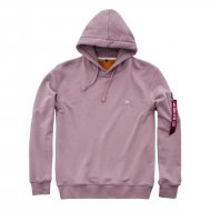 Alpha Industries - X-Fit Basic Hoodie silver pink