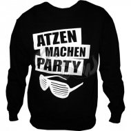 Atzen machen Party Sweater schw.