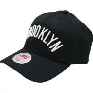Brooklyn Nets Courtside Strech Fit Cap | NBA | Mitchell &...