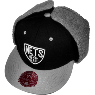 Brooklyn Nets Fitted Cap Dog Ear schwarz/grau | NBA |...
