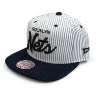 Brooklyn Nets Snapback Cap Threads | NBA | Mitchell & Ness