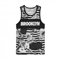 Cayler & Sons Brooklyn Flowers Mesh Tank Top black/white