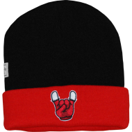 Cayler & Sons - Chicago Beanie black/red