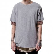 Cayler & Sons Long Tee Deucey Layer grey