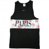Cayler & Sons - Paris Tanktop schwarz (SALE)