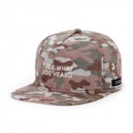 Cayler & Sons Snapback-Cap What You Heard camo