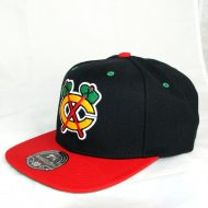 Chicago Blackhawks Fitted Cap High Crown | NHL | Mitchell...