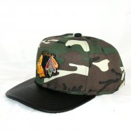 Chicago Blackhawks Snapback Woodland Camo | NHL |...