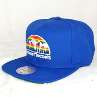 Denver Nuggets Snapback Wool Solid | NBA | Mitchell &...