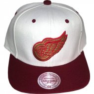 Detroit Red Wings Snapback Klett Logo Cream Edition | NHL...