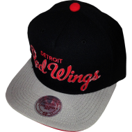 Detroit Red Wings Snapback Metall Signature | NHL |...