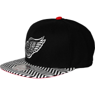 Detroit Red Wings Snapback Zic Zac | NHL | Mitchell &...