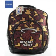 Forever Collectibles NBA Camouflage Back Pack HEAT