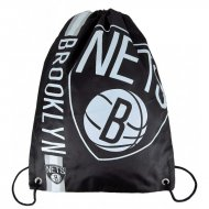 Forever Collectibles NBA Cropped Logo Gym Bag NETS