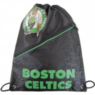 Forever Collectibles NBA Diagonal Zip Drawstring Bag B....