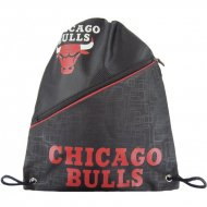 Forever Collectibles NBA Diagonal Zip Drawstring Bag CHI....
