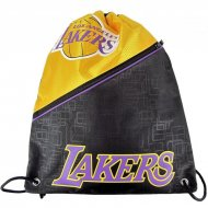 Forever Collectibles NBA Diagonal Zip Drawstring Bag LA...