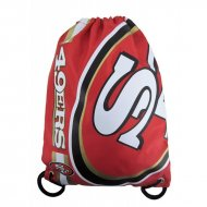 Forever Collectibles NFL Cropped Logo Gym Bag 49ERS