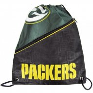 Forever Collectibles NFL Diagonal Zip Drawstring Bag PACKERS