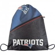 Forever Collectibles NFL Diagonal Zip Drawstring Bag...