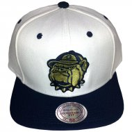 Georgia Bulldogs Snapback Klett Logo Cream Edition | NCAA...
