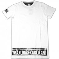 Karl Kani - T-Shirt Alasco white (SALE)