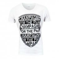 Kay One T-Shirt Champagne weiss