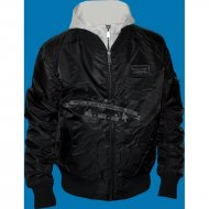 Lonsdale Hooded Flight Jacket Clifton