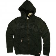 Lonsdale - Slim Fit Hooded Knit Zipper Rodgers