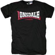 Lonsdale T-Shirt Two Tone schwarz
