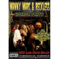 Manny Marc & Reckless Horrorparty Poster
