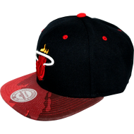 Miami Heat Snapback Brush | NBA | Mitchell & Ness