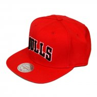 Mitchell & Ness Chicago Bulls Wool Solid Block Snapback...