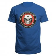 Orgiwear Battle Skull T-Shirt (Royal Blue)